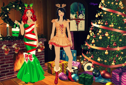 Here's mine. Ariel and Snow White.