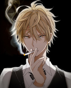 Shizuo, I guess...in terms of strength.