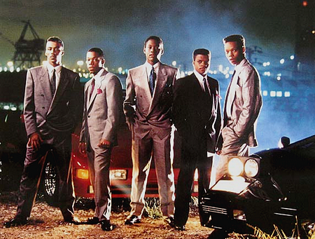 """New Edition, one the most popular R and B vocal groups from the """"'80's"""""""