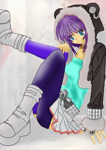 Name: Kira Age: 14 Personality: Dark, quiet, mysterious, agile, fast and stealthy. Moves like a nin