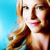 smirking - Caroline