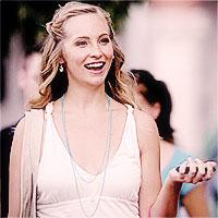1.) White - Caroline Forbes