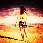 beach;