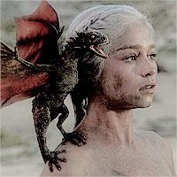 1.) क्वीन {Ahem! *Not a queen, a Khaleesi.* :D }