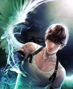 Name: Aaron(just Aaron) Age: 17 Titan Parent: Hyperion Mortal Parent: ... Powers: Control