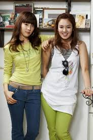 here. hyo yeon and tae yeon. i command a picture of sexy hyo yeon