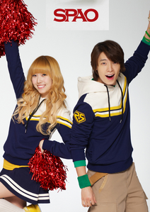 Jessica and Donghae I command a चित्र of Yuri outdoors