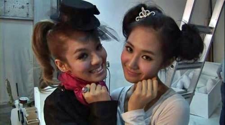 <i> Hyoyeon And Yul I command a picture of your bias with Kyungsan ^^ </i>