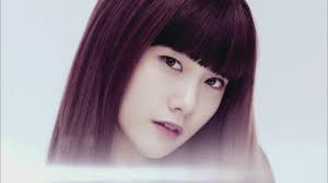 Yoona with Bangs i command a picture of any SNSD member with any एफ(एक्स) member XD
