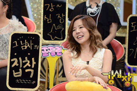 Sunny~ I command a pic of any member with their hair tied up.