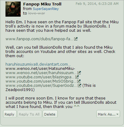I recieved a message from rileyferguson on deviantart (his username is SuperSaiyanRiley) saying that