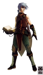 Name: Jaxson Zephyr Age:Unknown Race: Mage/Guardian Other: He have the power of imagination and is