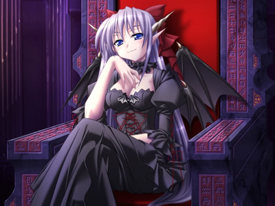Name: Nerin Age: ??????? Gender: Female Species: Demon Race: Demon Lord Weapons:
