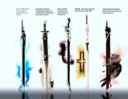 heres еще swords: guardians only 6. water blade (owner: 7.dark blade (owner: 8. root handle (owne