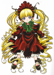 as far as i know,you are curt and talkative,i'll say um...........shinku from rozen maiden........