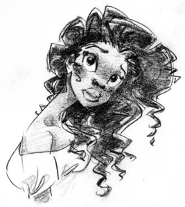 Nowadays, I feel like the only person who doesn't see Tiana as gorgeous, I think she ranks 11th on my