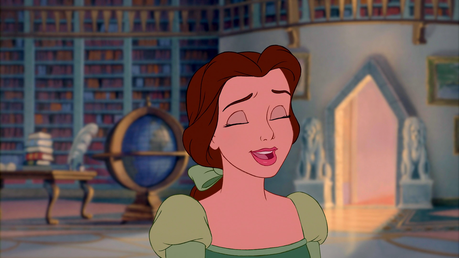 While I ADORE Belle, I honestly don't think she's anything special in the looks department. I think t