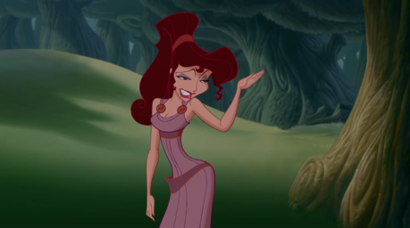 I don't find Meg pretty. She has weird face and her डिज़ाइन is way too pointy. And also her waist...sh