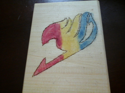 2nd one is.....the Fairy Tail logo! I just প্রণয় how it looks!
