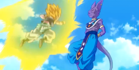 Their match is very short, there aren't so many screencaps about this battle xD Find a picture of