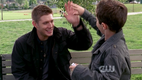 Round 15: Dean with any kid :) Winner: Doodlebug81