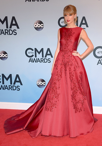 Taylor in a gown!