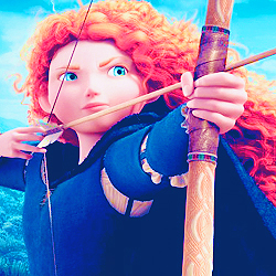 [b]Day 2 ~ inayopendelewa Disney Princess[/b] Merida's constantly growing on me.