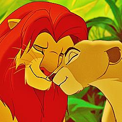 día 24 ~ favorito! Parents [b] Simba and Nala [/b]