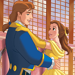 día 30 ~ favorito! Happy Ending [b] Beauty and the Beast[/b] - The Spell Broken , the Beast com