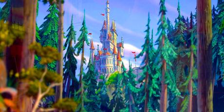 día 7 ~ favorito! castillo Beast's castillo