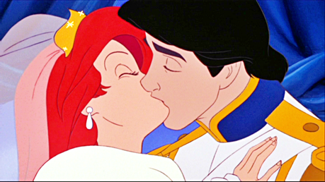 día 5 - favorito! kiss The little mermaid - Ariel and Eric