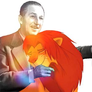 With Walt Disney