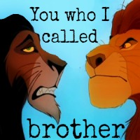 """You who I called brother..."" -Rameses, [i]Prince of Egypt[/i]"
