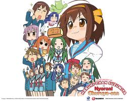 I just watched The melancholy of haruhi-chan suzumiya... It's a really a random دکھائیں to watch