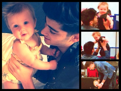 Zayn and Baby Lux <3