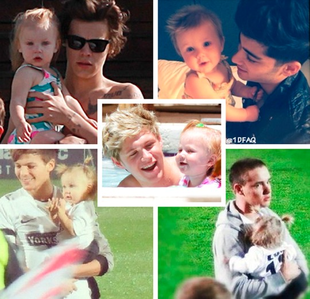 How's This Dear Baby Lux With All Of Them She's So Cute