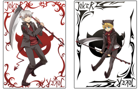 I choose the Joker card!