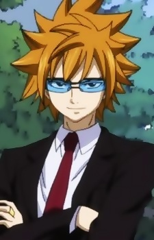Glasses + Suit (I almost wrote gasses + 水果 lol)