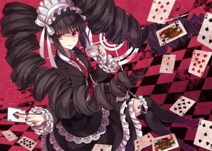 I pick gothic lolita outfit