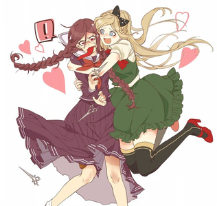A Hug (Ok, technically only Sonia is hugging Syo, but w/e)