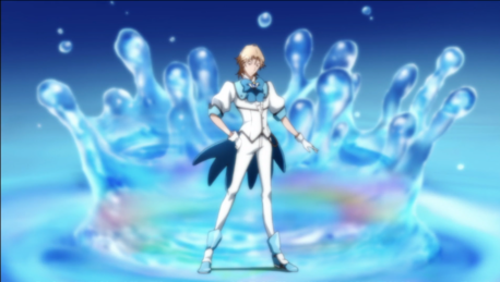 It is a crime against nature not to post this: Magical boy/Boy in a magical girl costume.