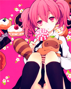 粉, 粉色 lollipop