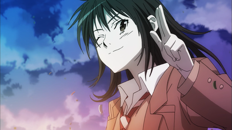 Sky in the background ^^ (Ibara Naruse)