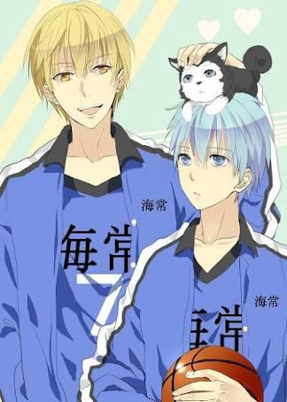 Same anime, Blue hair and باسکٹ, باسکٹ بال ^-^