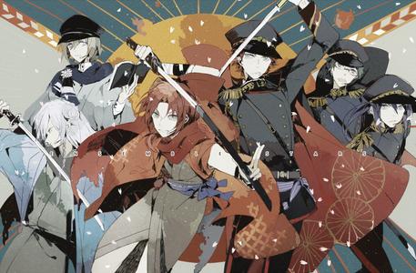 Cape! (Eichi, Wataru, Leo, Kuro, Keito, and Souma from Ensemble Stars)