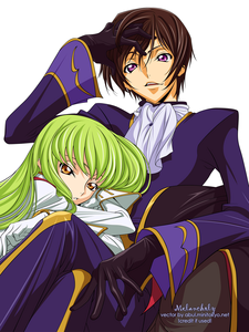 Object~ Gloves C.c. and Lelouch from Code geass!