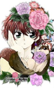 پھول in hair ~ (Yona from Yona of the Dawn)