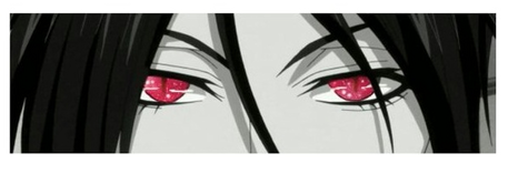 Object~ Red eyes Sebastian from black butler