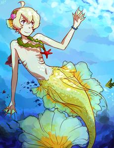 Ocean ^^ (Haru from Tsuritama)