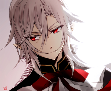 Object~ Red eyes Ferid Bathory from Seraph of the end.